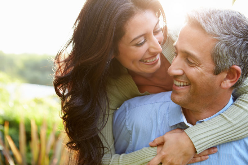 couple with Invisalign in long island
